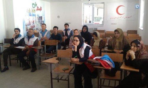 کارگاه آموزشی امداد و نجات در مرکز آموزش فنی و حرفه ای شهرستان آق قلا برگزار شد.