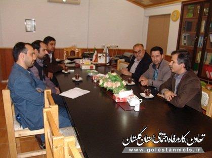 جلسه بهره وری کارگاههای آموزشی و نیازسنجی آموزش در راستای اشتغال کارجویان در شهرستان کردکوی برگزارشد.