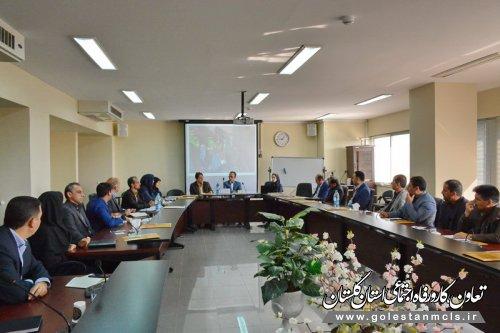 برگزاری نشست هم اندیشی منطقه یک ورزش کارکنان تامین اجتماعی درمدیریت درمان گلستان