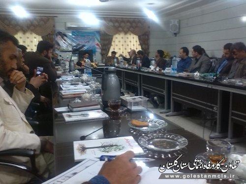 برگزاری جلسه رابطین فرهنگی و اقامه نماز علی آبادکتول