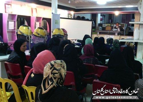 برگزاری دوره آموزشی قوانین کار و تشکلات در علی آبادکتول