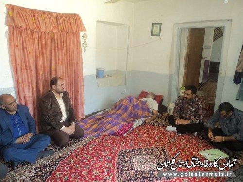 سرکشی از خانواده های  نیازمند شهرستان علی آبادکتول به مناسبت ماه مبارک رمضان