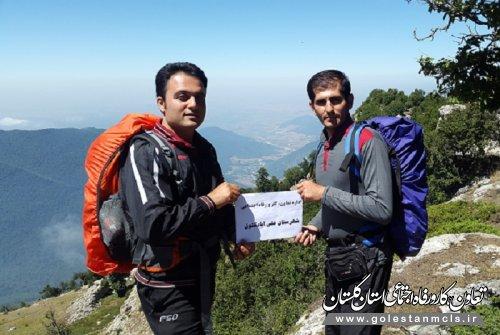 صعود کارکنان اداره تعاون، کار علی آبادکتول به وسیع ترین قله کشور