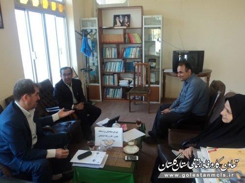 برگزاری جلسه شورای هماهنگی تعاون، کار و رفاه اجتماعی شهرستان مینودشت