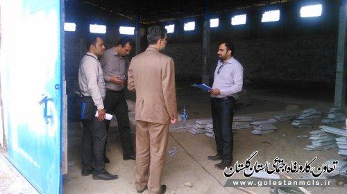 بازدید از طرح های اولویت دار شهرستان علی آبادکتول