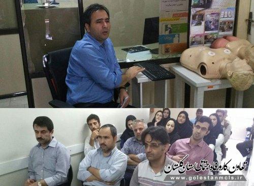 دکتر نصرتی :باز آموزی مداوم رمز موفقیت تیم درمانی در تامین اجتماعی استان است.