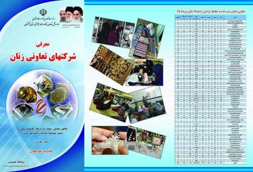 معرفی شرکتهای تعاونی بانوان استان گلستان