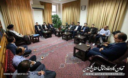 مدیرکل تعاون،کار و رفاه اجتماعی گلستان:حمایت از شرکتهای تعاونی روسری ترکمن از اولویتهای بخش تعاون است.