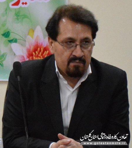 دکتر نصرتی:ماهیانه 782 هزار نفر از خدمات درمانی تامین اجتماعی استان گلستان استفاده می کنند.