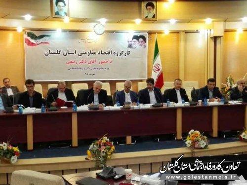 رییس سازمان مدیریت و برنامه ریزی استان گلستان عنوان کرد: 73 پروژه مهم و محوری در راستای اقتصاد مقاومتی در استان