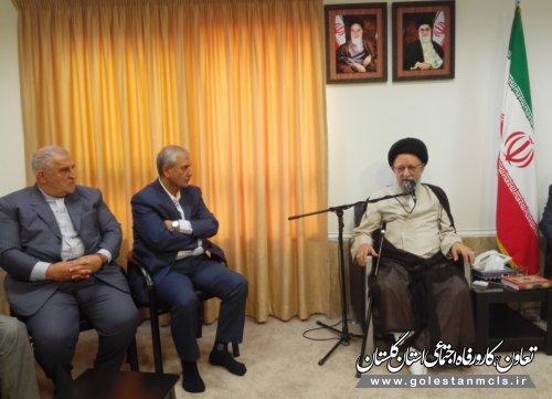 نماینده ولیفقیه در گلستان:اجرای وعدههای دولت در گلستان تسریع شود
