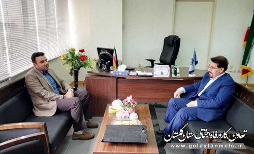 در دیدار مدیر کل تعاون،کار و رفاه اجتماعی و مدیردرمان گلستان تاکید شد: ارتقای خدمات درمانی کارگران استان
