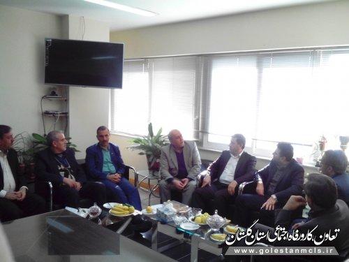 نشست مدیران شورای هماهنگی تعاون، کار و رفاه اجتماعی