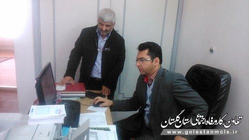 بازدید از تشکل های کارگری وکارفرمایی شهرستان بندرگز