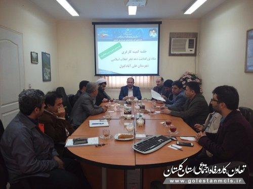 برنامه های نهایی کمیته کارگری دهه فجر علی آبادکتول اعلام شد.