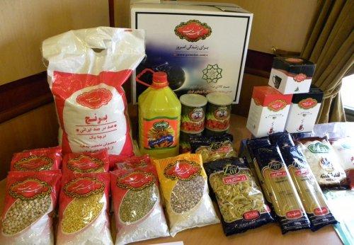 اجرای دهمین دوره توزیع سبد کالا در گلستان
