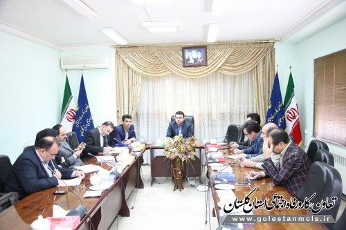 برگزاری جلسه هم اندیشی پیرامون عملکرد اتاق تعاون استان گلستان