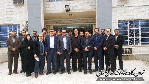 گردهمایی بازرسان کار استان گلستان برگزار شد.