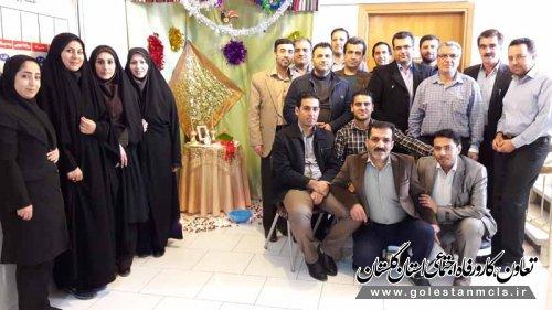 کارکنان اداره تعاون،کار و رفاه اجتماعی گرگان تقدیر شدند