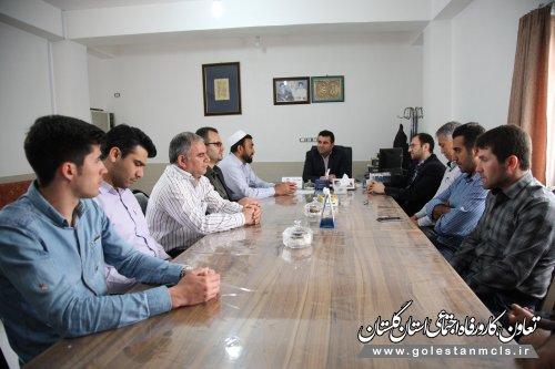 مدیرکل تعاون کار گلستان تاکید کرد: رعایت عدالت در ارتباط با مردم