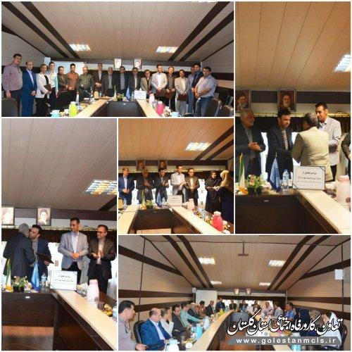 برگزاری مراسم تجلیل از مدال آوران المپیاد آزاد مهارت در مرکز آموزش فنی وحرفه ای برادران گرگان