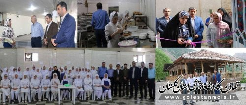 با حضور مدیر توانمندسازی صندوق کارآفرینی امید در گلستان انجام شد: افتتاح یک واحد تولیدی و بازدید از طرح های اقتصادی