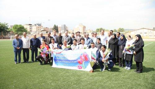 گزارش تصویری استقبال از تیم ملی والیبال ساحلی ایران در گرگان