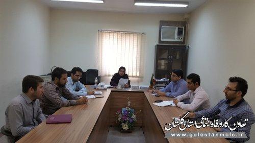 برگزاری دوره آموزشی ویژه کارشناسان روابط کار در علی آبادکتول