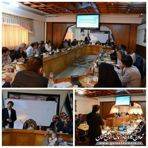 به مناسبت هفته دولت برگزار شد : برگزاری کارگاه مهارت های مدیریتی در اداره کل آموزش فنی وحرفه ای استان گلستان