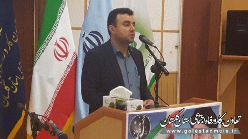 مدیرکل تعاون و کار گلستان: ۲۶۳۰ تعاونی در استان گلستان فعالیت میکنند