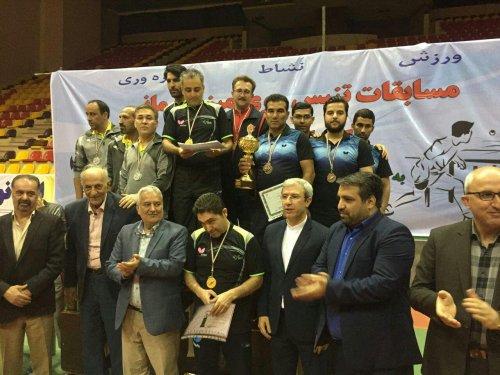 رئیس هیئت ورزش کارگری گلستان: گلستان مقام سوم مسابقات تنیس روی میز قهرمانی کارگران کشور را کسب کرد