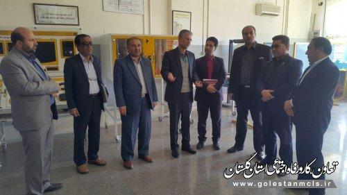 ششمین وآخرین روز از هفته بازدید همگانی از مراکز آموزش فنی وحرفه ای استان گلستان