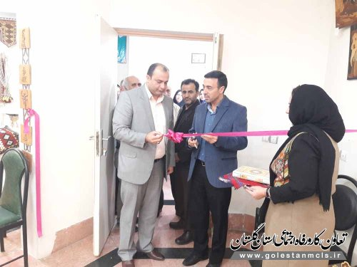 به مناسبت هفته کارآفرینی: نمایشگاه فرصتهای شغلی و صنایع دستی در گرگان افتتاح شد